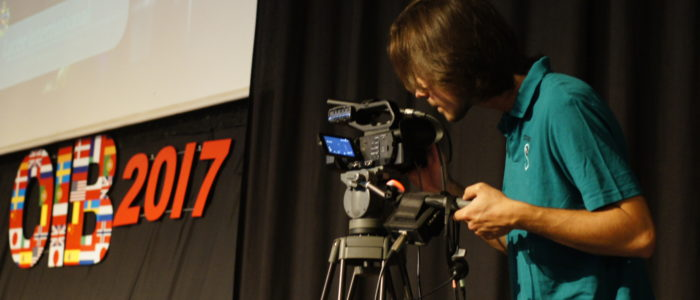 Préparation des caméras